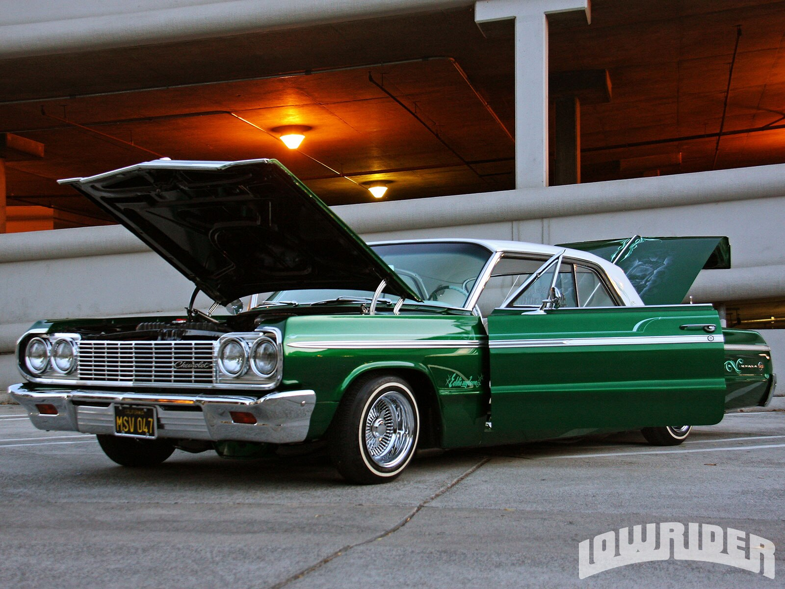 Lowrider Car Hd Wallpaper 1964 Chevrolet Impala Lowrider Magazine