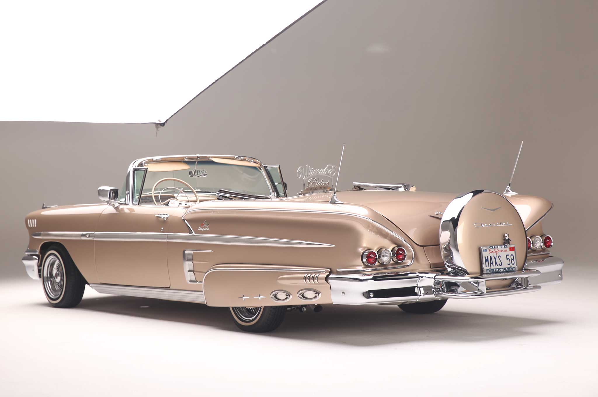 Classic Car Wallpaper 57 Chevy A 556hp Supercharged 1958 Chevrolet Impala