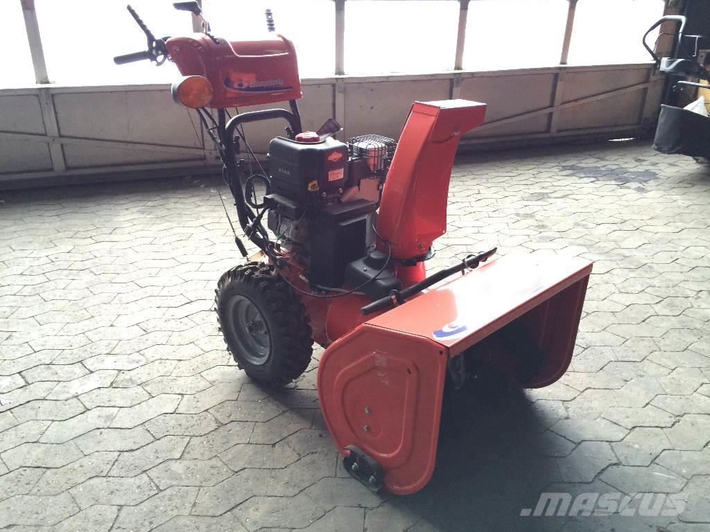 Used Snow Blowers Simplicity L1226ex