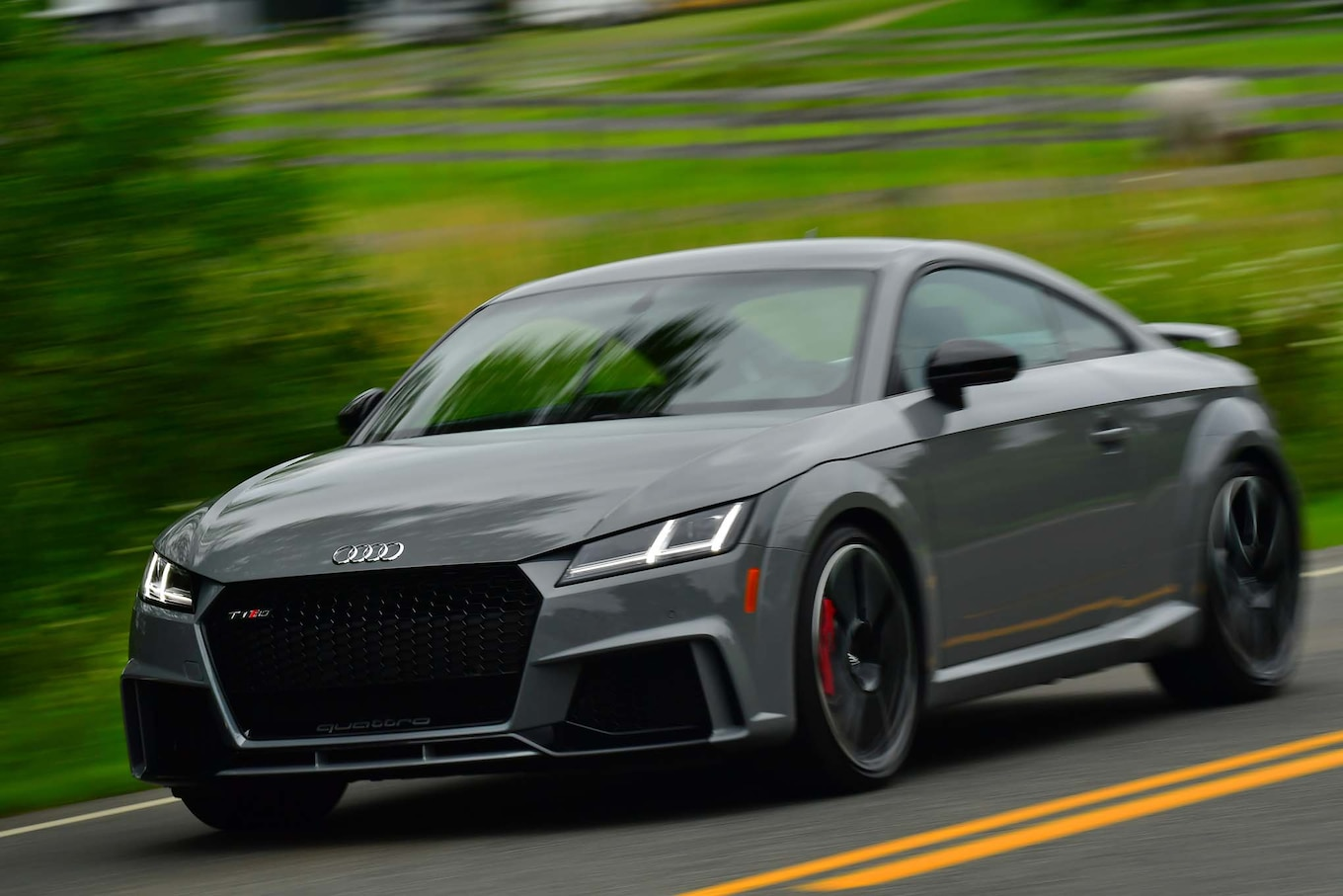 Audi Concept Car Wallpaper 2018 Audi Tt Rs First Drive Review Motor Trend Canada