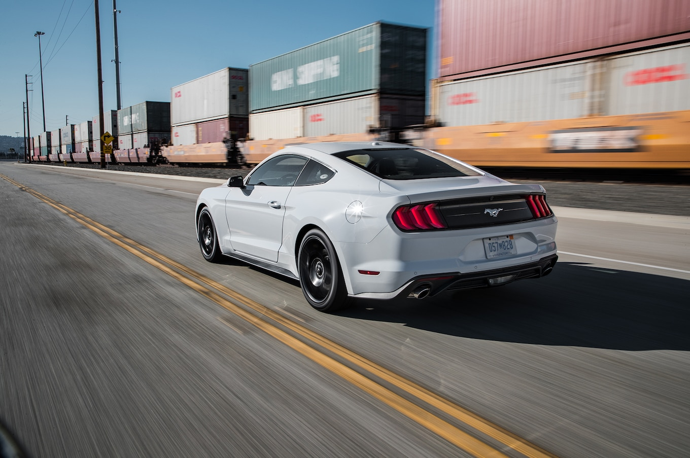 2018 ford mustang ecoboost first test chip on its shoulder