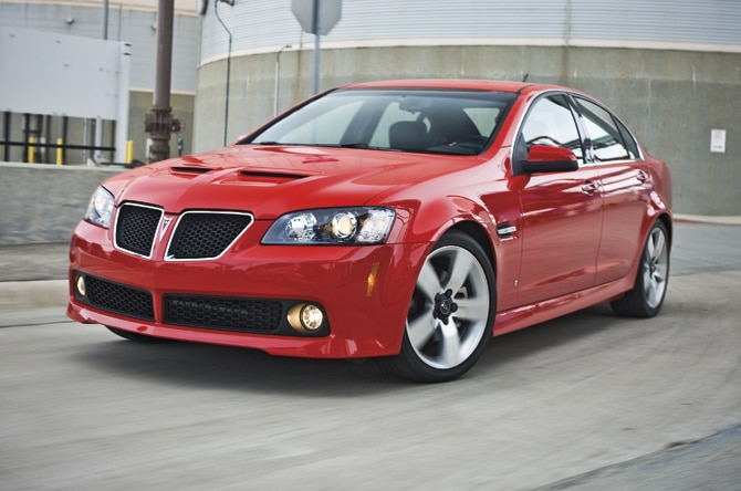 2008 Pontiac G8 Reviews and Rating Motortrend
