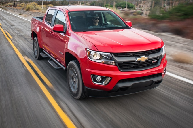 2015 Chevrolet Colorado Reviews and Rating Motortrend