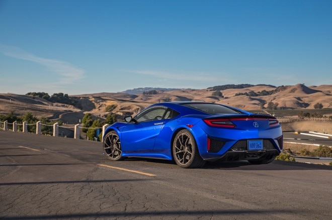 2017 Acura NSX Reviews and Rating Motortrend