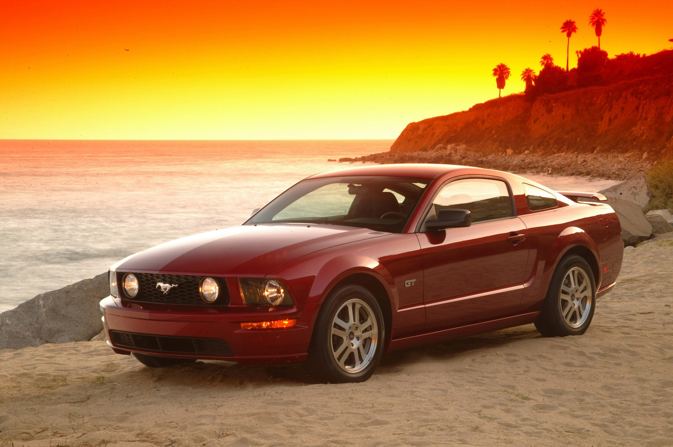 Girl Wallpaper Longitudinal 2005 Ford Mustang Gt Track Test Review Motor Trend