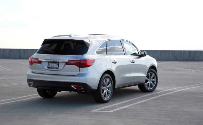 2014-Acura-MDX-rear-three-quarters-03 2014 Acura Mdx Mpg