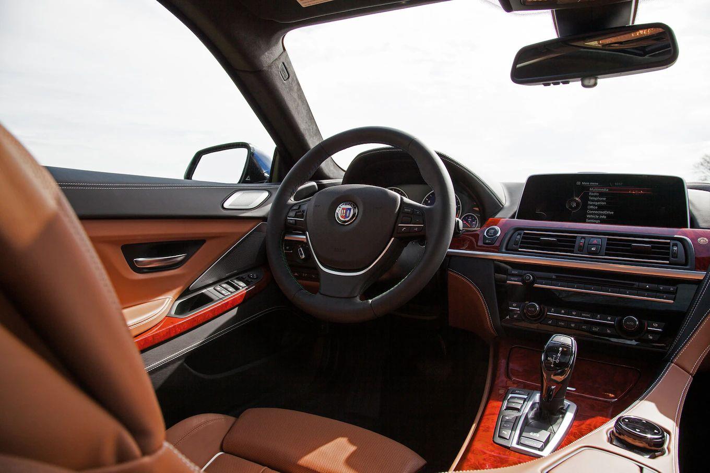 2016 bmw alpina b6 xdrive gran coupe cockpit