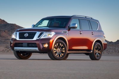 2017 Nissan Armada Pricing Jumps to $45,395