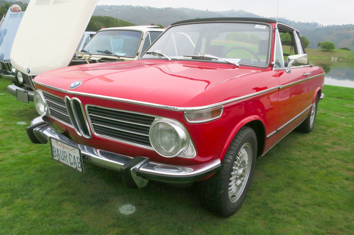 Baur Cabriolet Classic Bmws At The 2016 Legends Of The Autobahn Concours