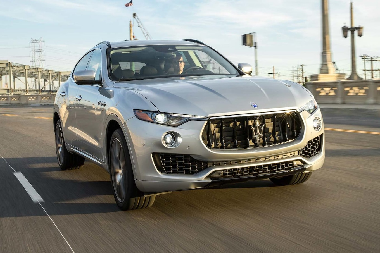 Infiniti Car Logo Wallpaper 2017 Maserati Levante Sq4 First Test The Maser Rocky Or
