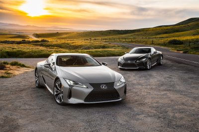 2018 Lexus LC 500 and LC 500h First Test Review