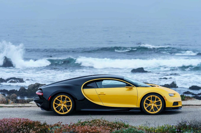 Blue Lamborghini Hd Wallpaper First Bugatti Chiron In U S Delivered At Pebble Beach