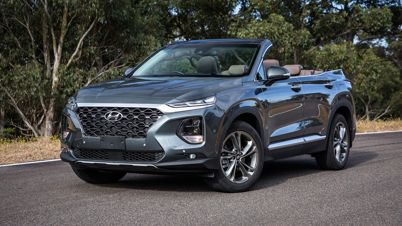 But Convertible The Hyundai Santa Fe Cabriolet Is Real But You Can T Have It