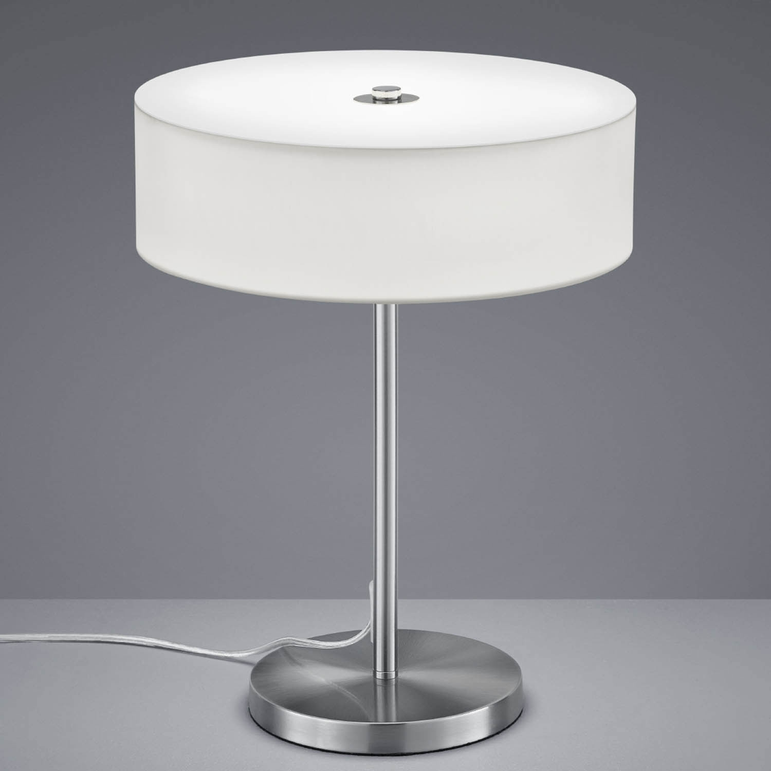 Lampara Mesa Led Lámpara De Mesa Led Carlo 12w Blanco Lámparas E