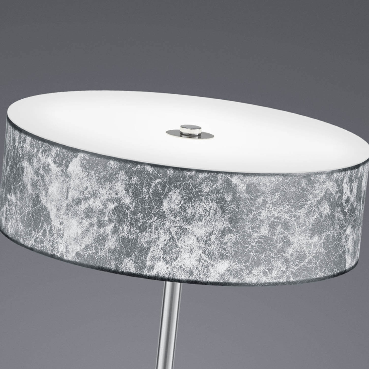 Lampara Mesa Led Lámpara De Mesa Led Carlo 12w Plata Lámparas E