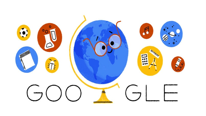 Teacher\u0027s Day 2018 Google celebrates with an animated doodle about