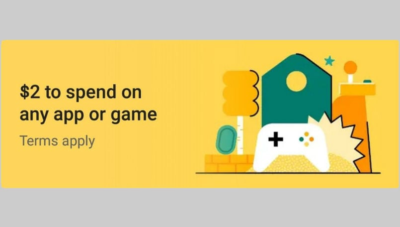 Google Play Store offering free credit to some users, can be spent