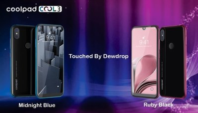 Coolpad Cool 3 with 'Dewdrop' notch display, dual-rear camera, Android 9.0 Pie launched at Rs ...