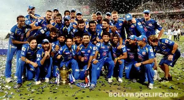 3d Wallpaper Indian Cricket Team Mumbai Indians Win Ipl 2013 Preity Zinta Sushmita Sen