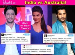 The whole of B-town has taken to Twitter in order to cheer for team ...