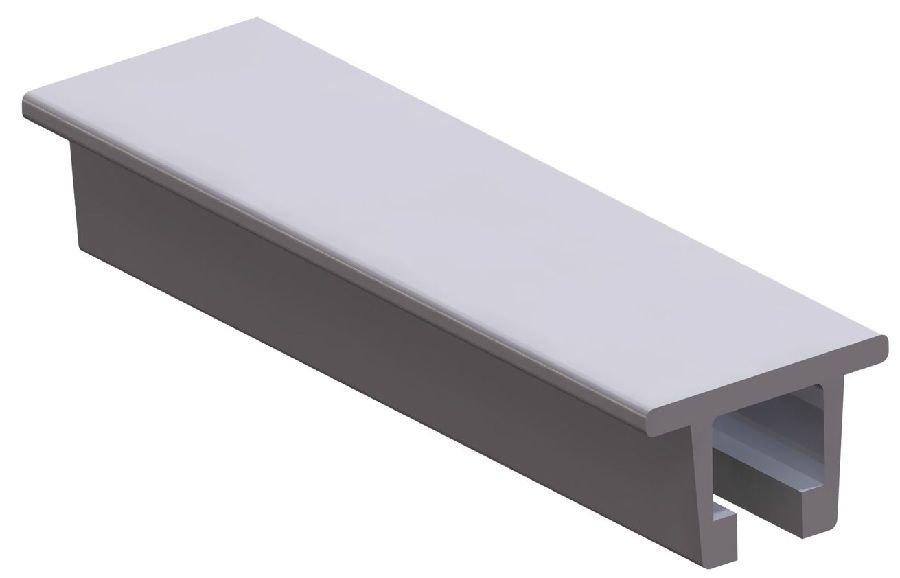 40mm C Profil Icin Aluminyum Profil Silver Anodized