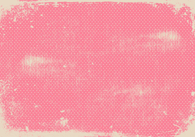 Grunge Pink Polka Dot Background Free Vector Download 411661 CannyPic