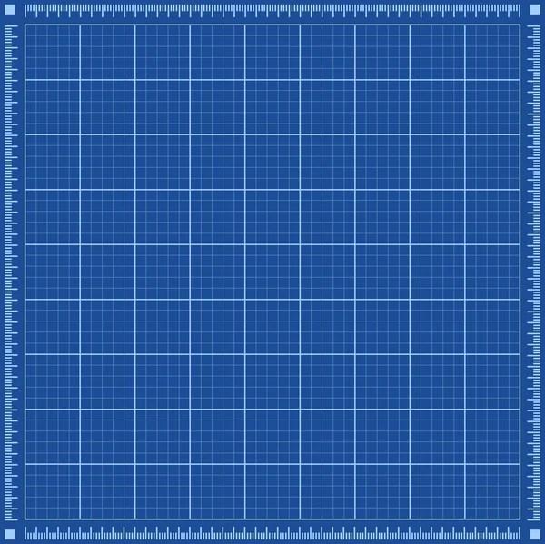 Drafting Blueprint, Grid, Architecture \u2014 Stock Vector