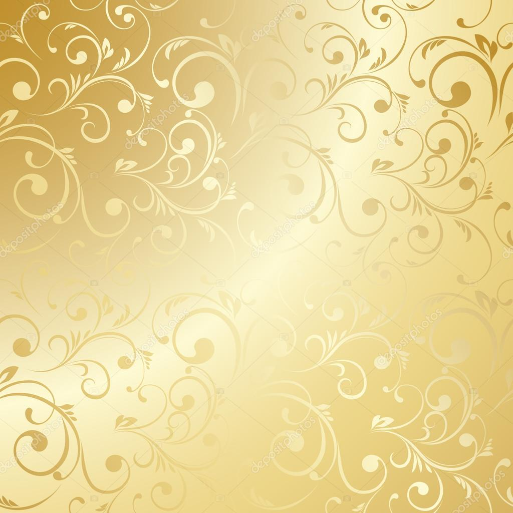 3d Damask Wallpaper Golden Yellow Floral Wallpaper Www Pixshark Com Images