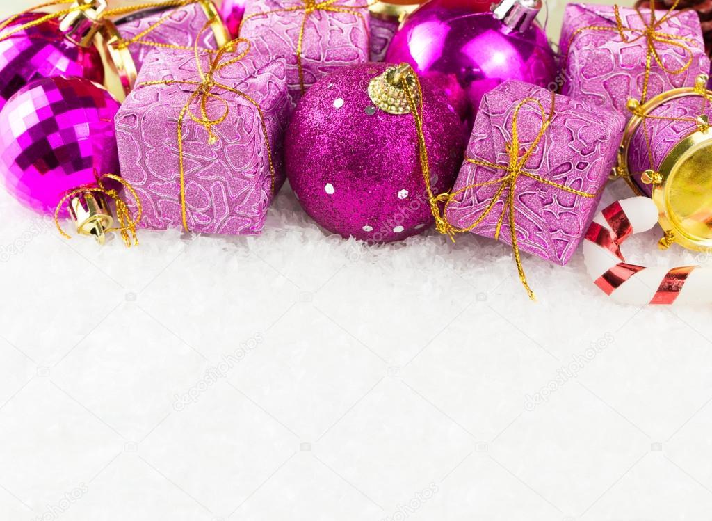 Christmas theme background \u2014 Stock Photo © shirotie #89687852 - christmas theme background