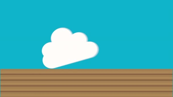 speech bubble design, Video Animation \u2014 Stock Video © yupiramos