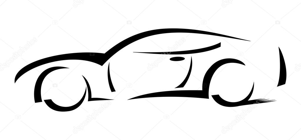 Cool Car Wallpapers 500 Racing Car Silhouette Illustration Stock Photo