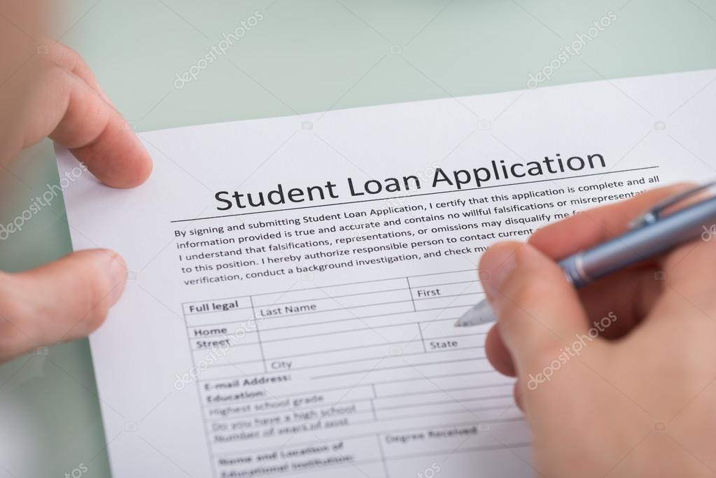Student Loan Application Form \u2014 Stock Photo © AndreyPopov #101114696