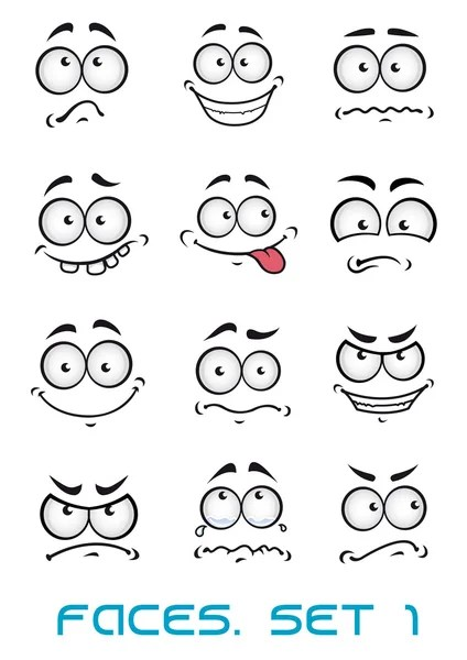 Cartoon faces Stock Vectors, Royalty Free Cartoon faces