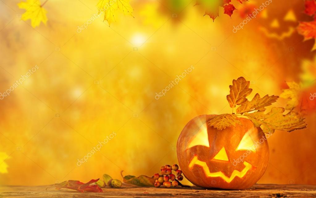 Fall Pumpkin Wallpaper Desktop Fondo Miedo Jack O Lantern Halloween Fotos De Stock