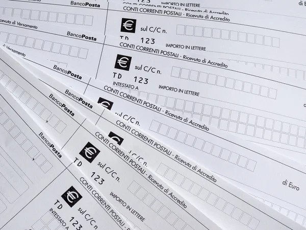 Postal order form \u2013 Stock Editorial Photo © claudiodivizia #71646653