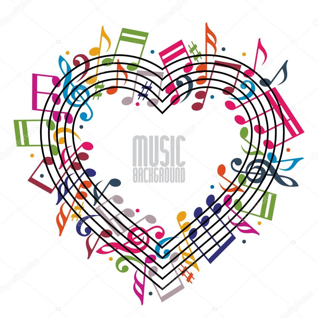 Cute Red Hearts Wallpapers Images Of Music Notes And Hearts Wallpaper Directory
