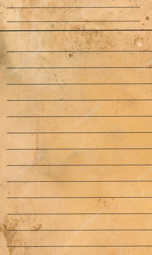 Blank yellow lined paper sheet background or textured \u2014 Stock Photo