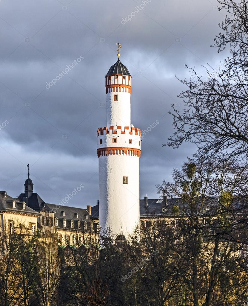 Bad Homburg Castle Bad Homburg And Watchtower In Hessen Germany Stock