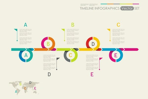 Time line Stock Vectors, Royalty Free Time line Illustrations