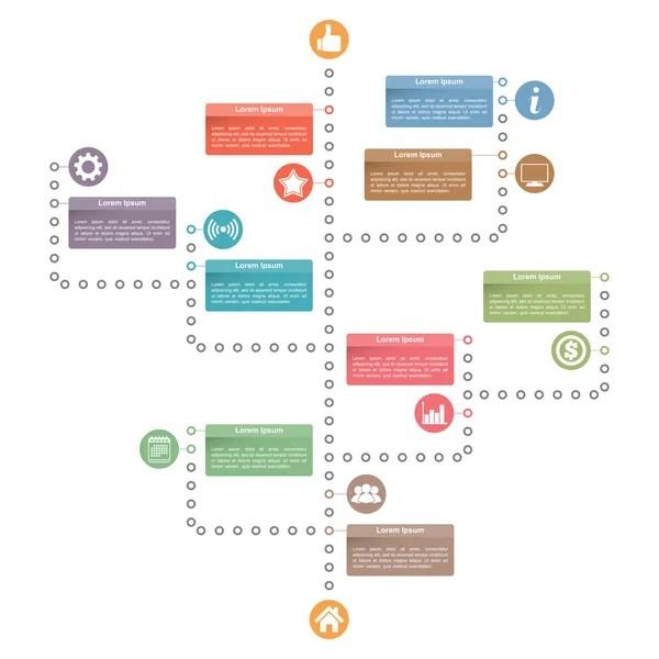 Tree Diagram Template \u2014 Stock Vector © human_306 #95322084