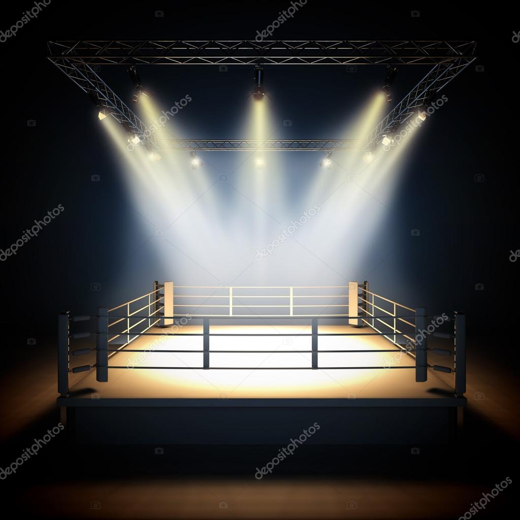 Boxing Ring Wallpaper Hd Ring De Boxe Professionnelle Vide Photographie Nav