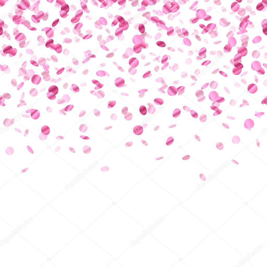 Water Falling Live Wallpaper Download Pink Confetti Background Seamless Horizontal Stock