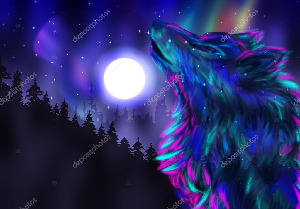 Indian Sad Girl Wallpaper Howling Wolf Spirit Stock Photo 169 Artshock 59290787