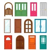 Front door Stock Vectors, Royalty Free Front door ...