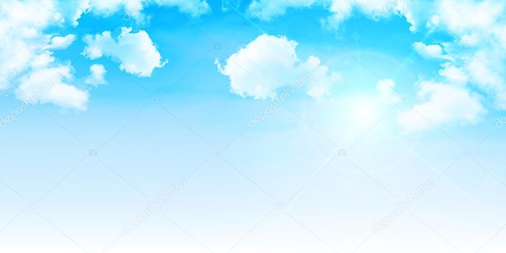Fondo de cielo nubes \u2014 Vector de stock © JBOY24 #72861467 - fondo nubes