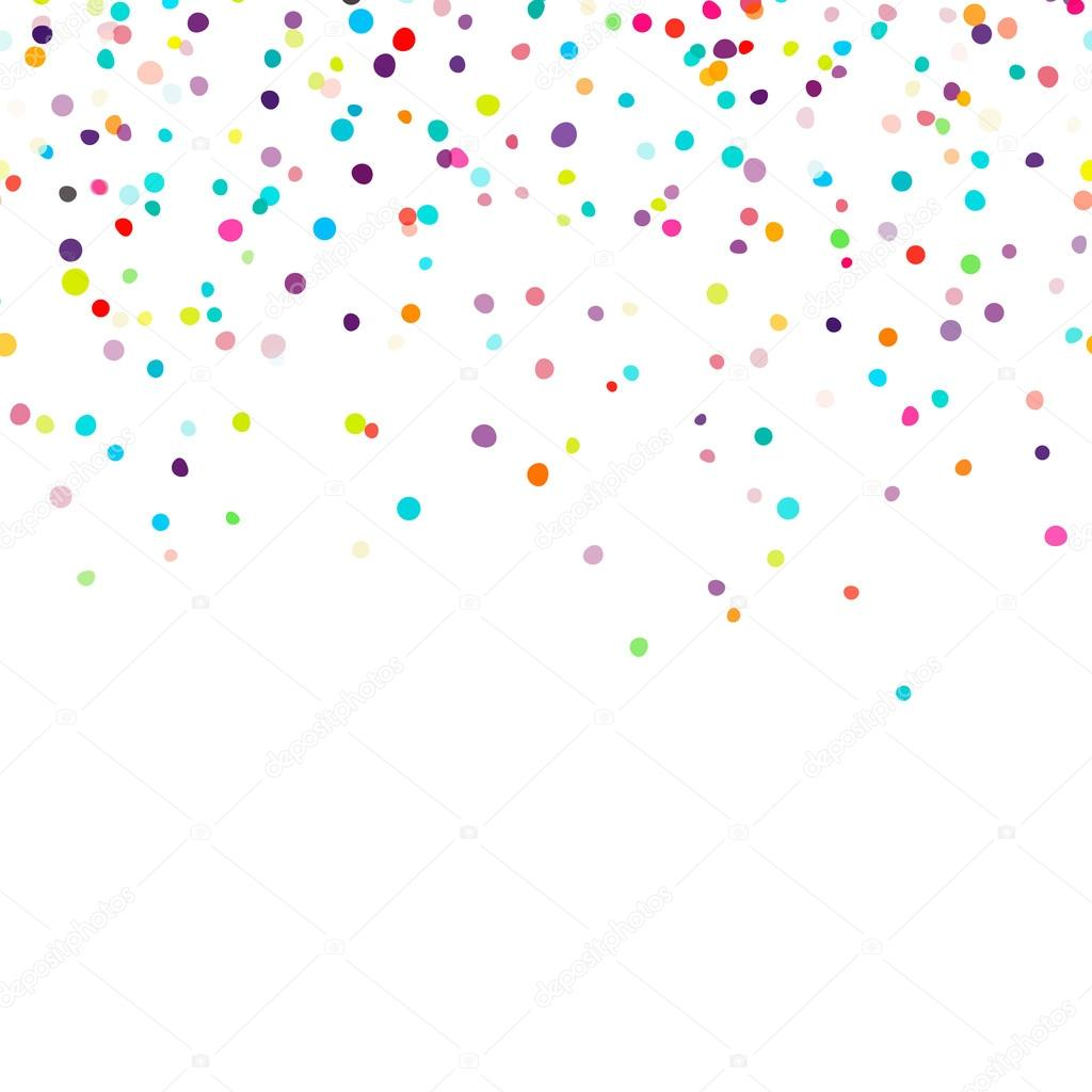 Falling Stars Live Wallpaper Background With Falling Confetti Stock Vector