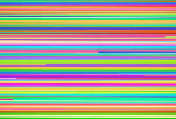 Multicolored Horizontal Stripes Background \u2014 Stock Video