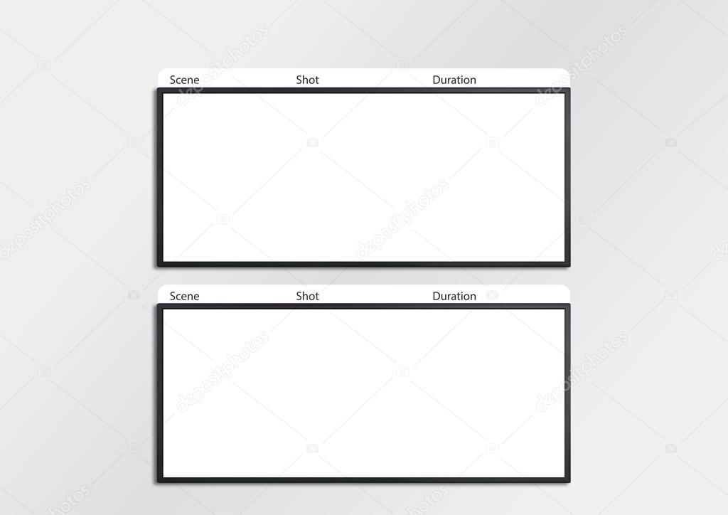 photography storyboard sample - sample video storyboard template