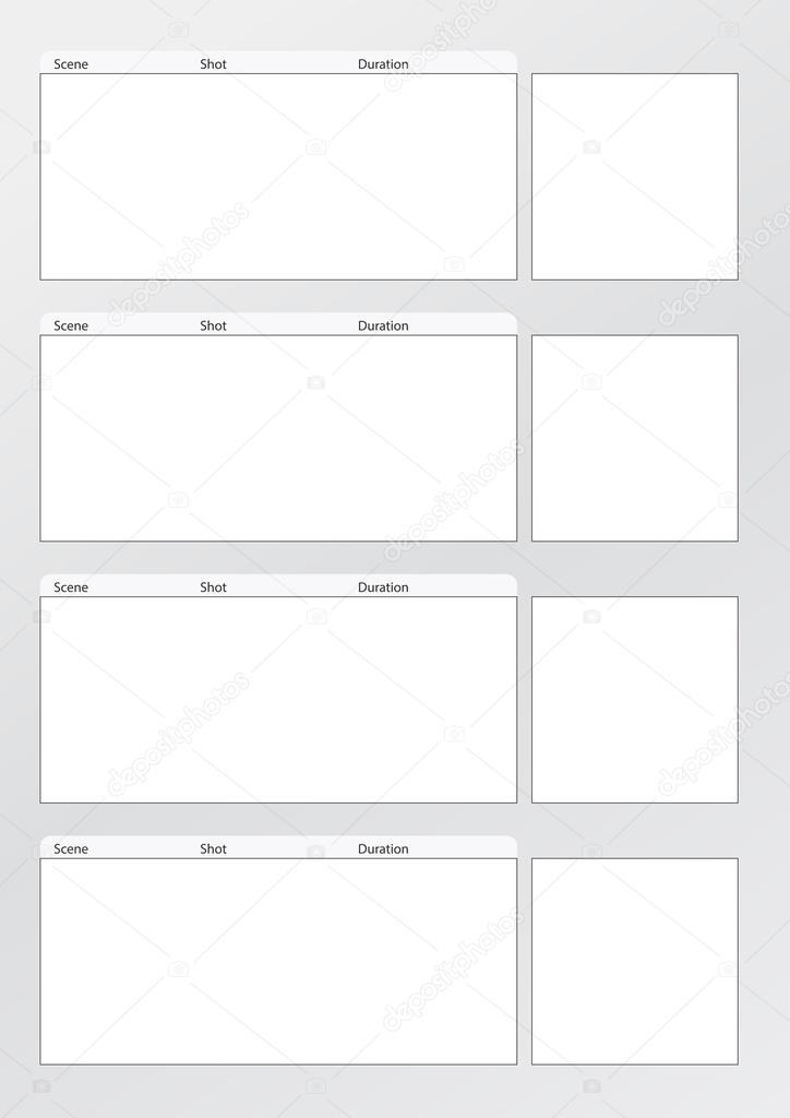 Video Storyboard Template Powerpoint - Eliolera - sample video storyboard template