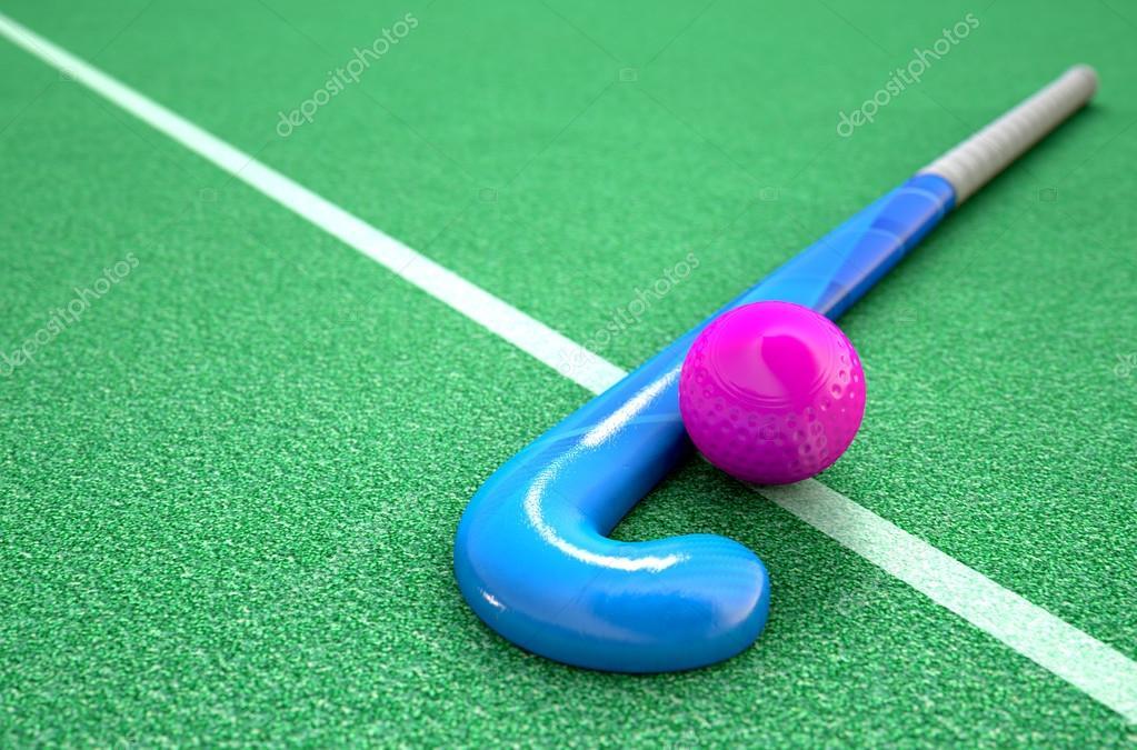 3d Om Live Wallpaper Hockey Stick En Bal Stockfoto 169 Albund 122109626